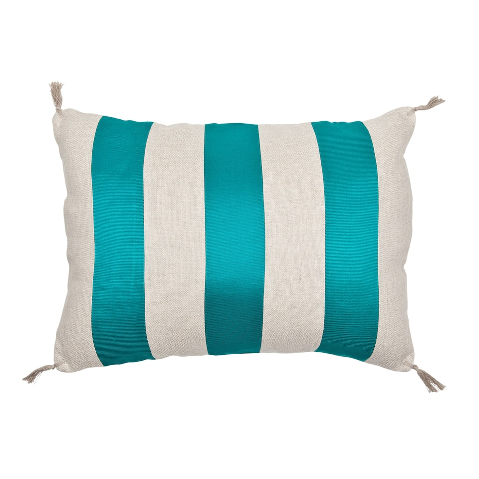 Striped Linen Cushion