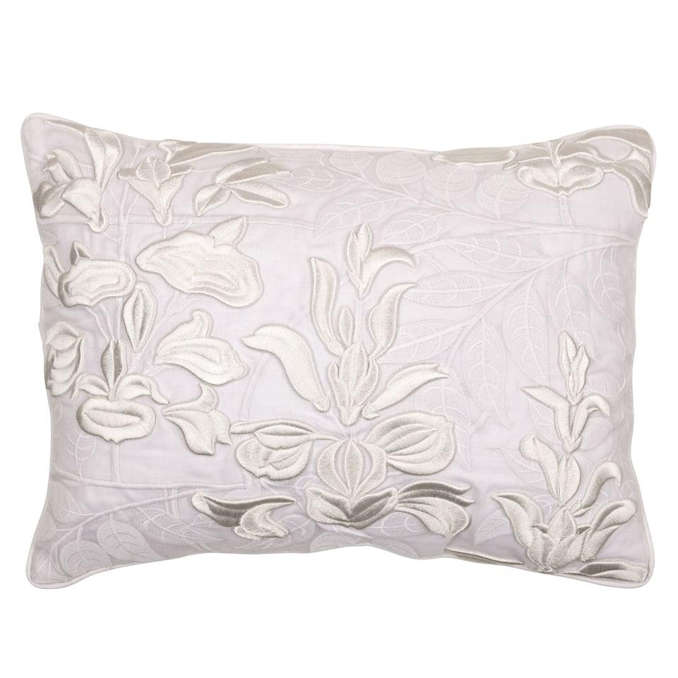 Raised Flowers Cushion