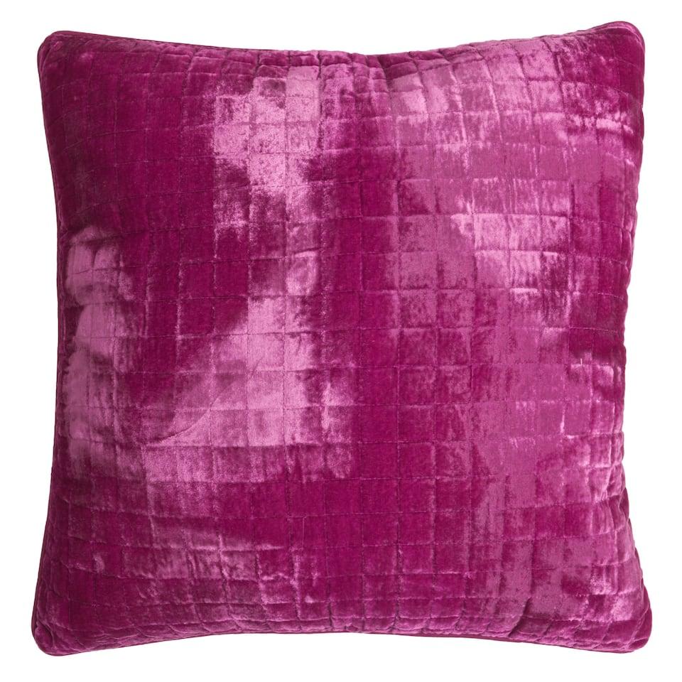 Fuchsia Velvet Cushion