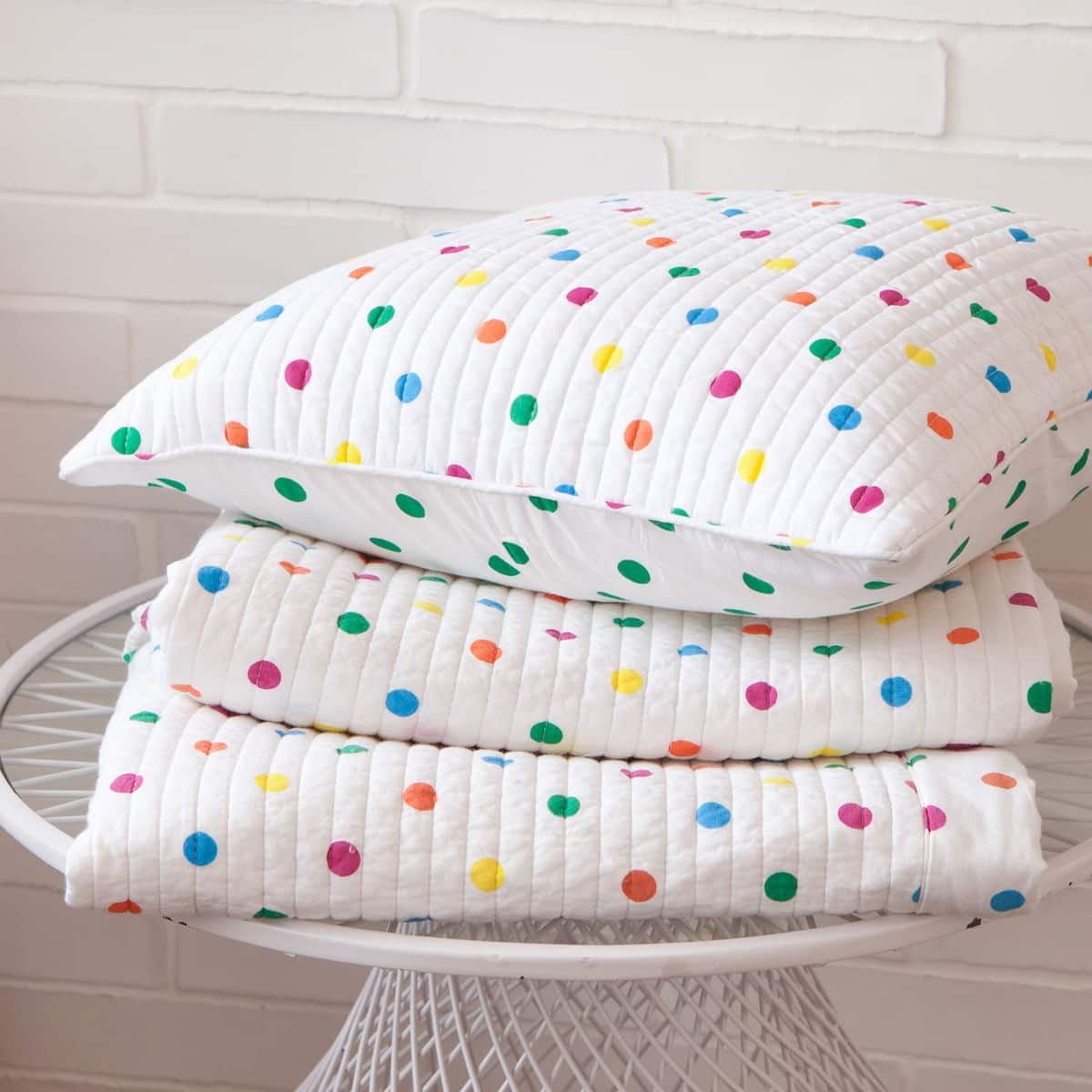 Kids patch flowers decorative quilt and cushion cover - Zara home kids com ...