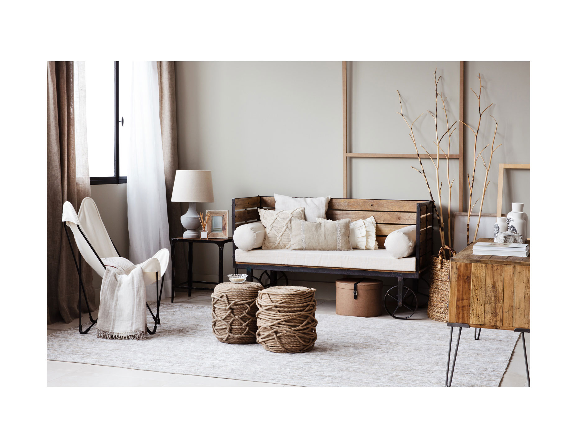 Zara Home - Lookbook - Living room