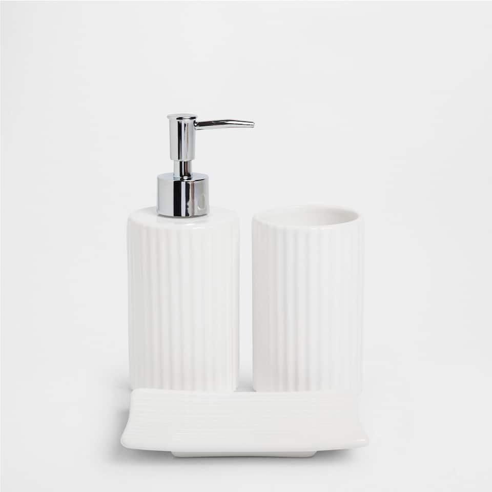 Vertical raised design bathroom set accessories for Bathroom accessories online australia