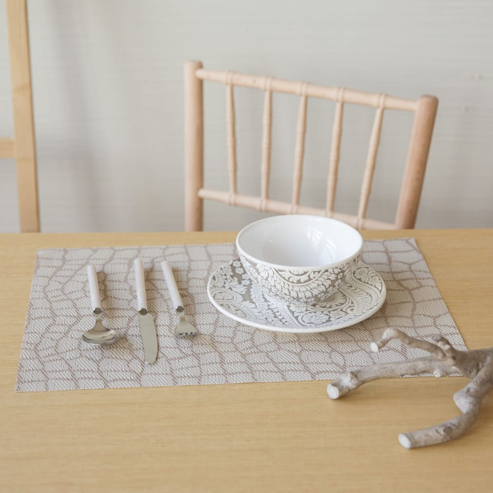 Set de table plastifi imprim animal lot de 2 - Set de table plastifie ...