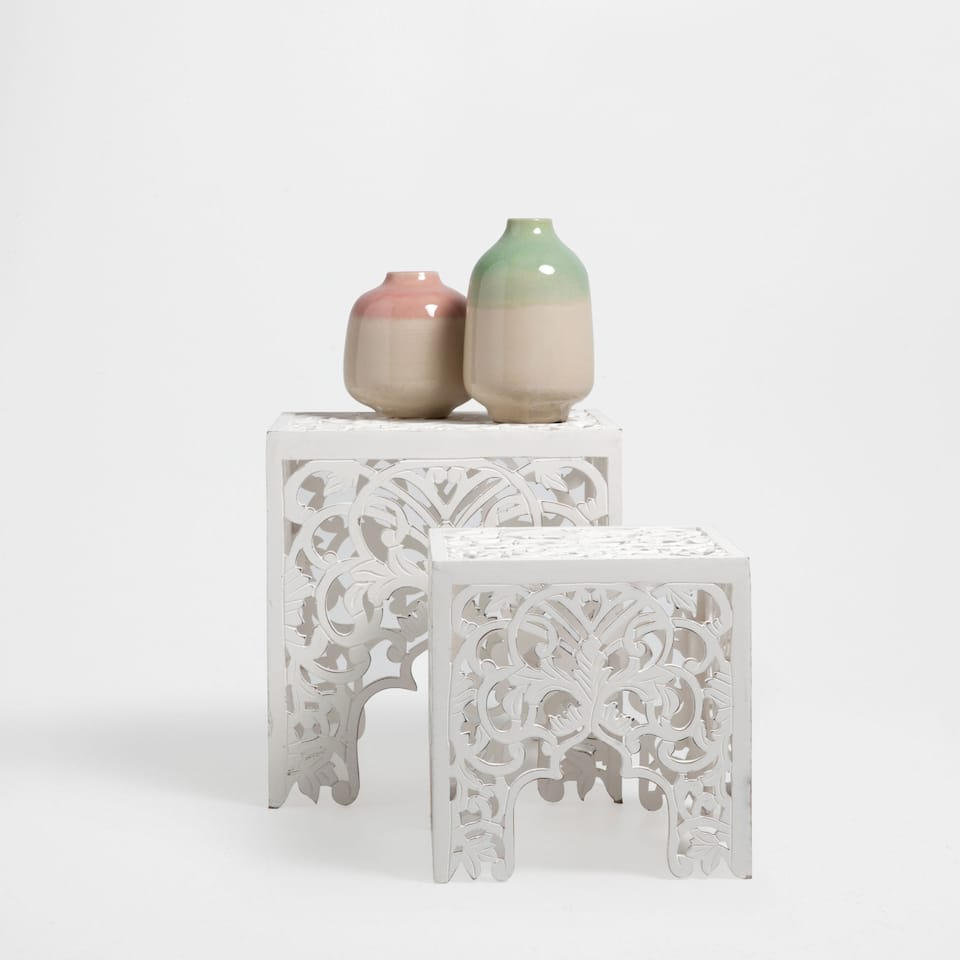 Meubles d 39 appoint lit zara home maroc for Table zara home