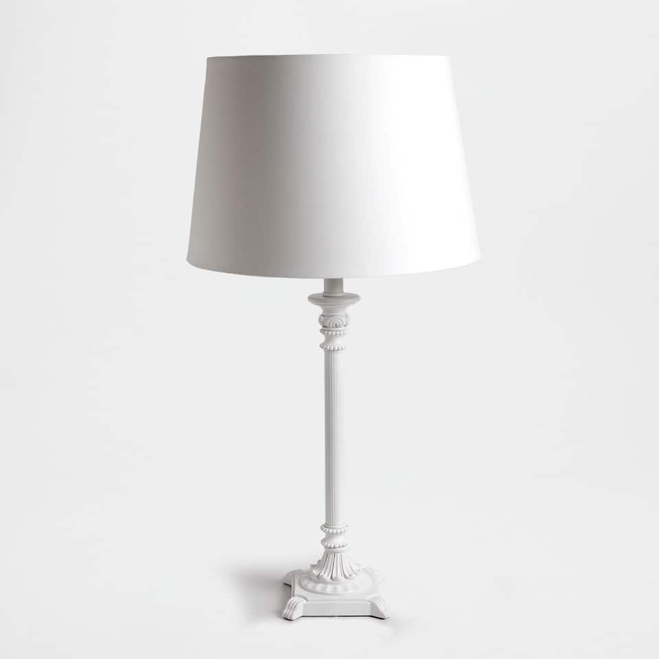 TALL BASE LAMP