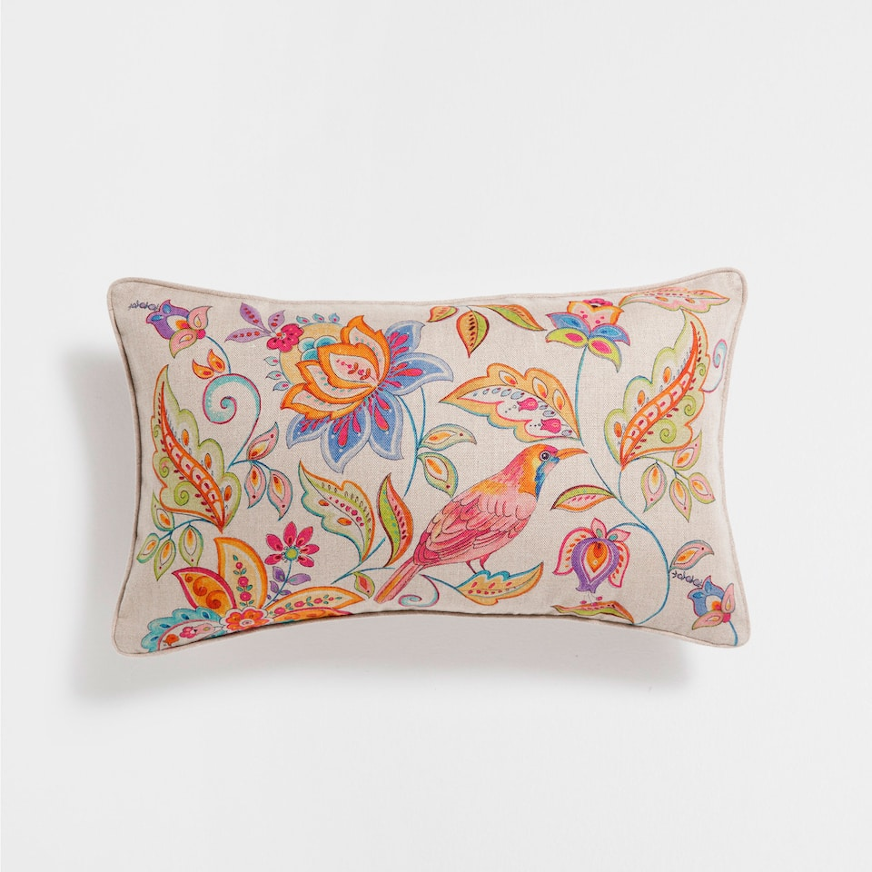 Floral Print Cushion Decorative Pillows Decor Home Collection Sale Zara Home United States