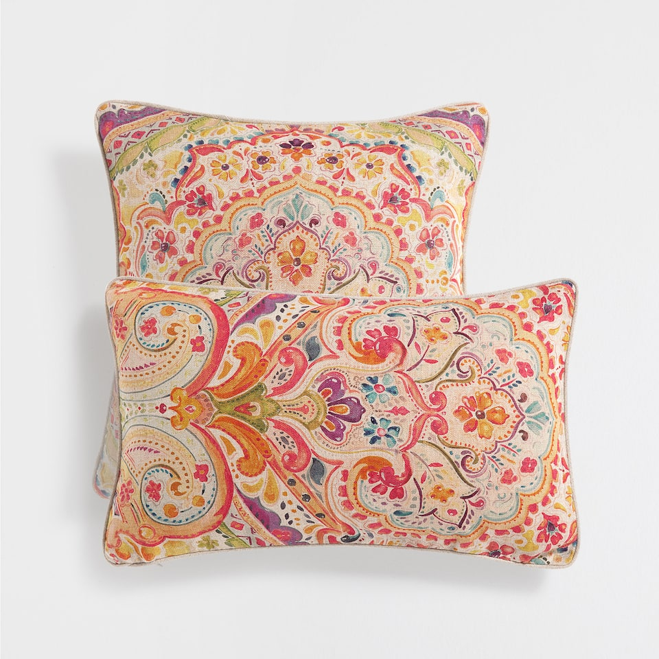 Decorative Pillows With States : JACQUARD PRINT CUSHION - Decorative Pillows - Decor - Home Collection - SALE Zara Home United ...
