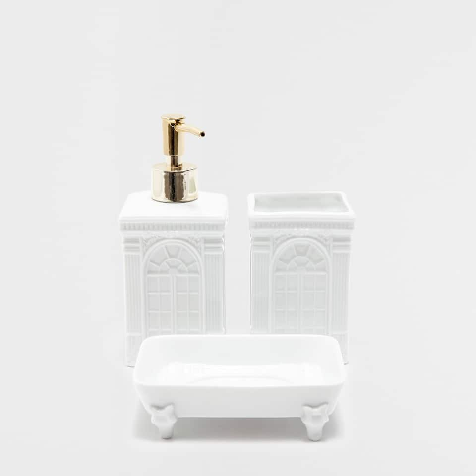 Square ceramic bathroom set accessories bathroom for C bhogilal bathroom accessories