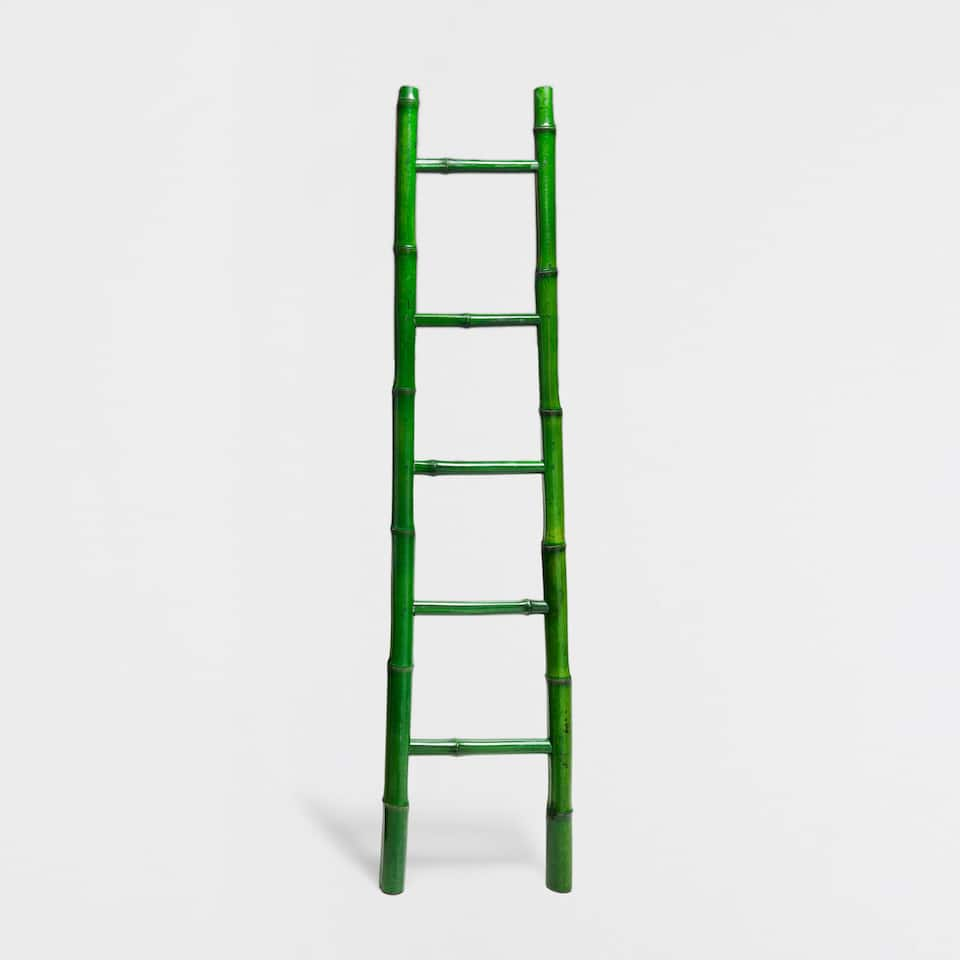 Toallero bamb verde for Escaleras zara home