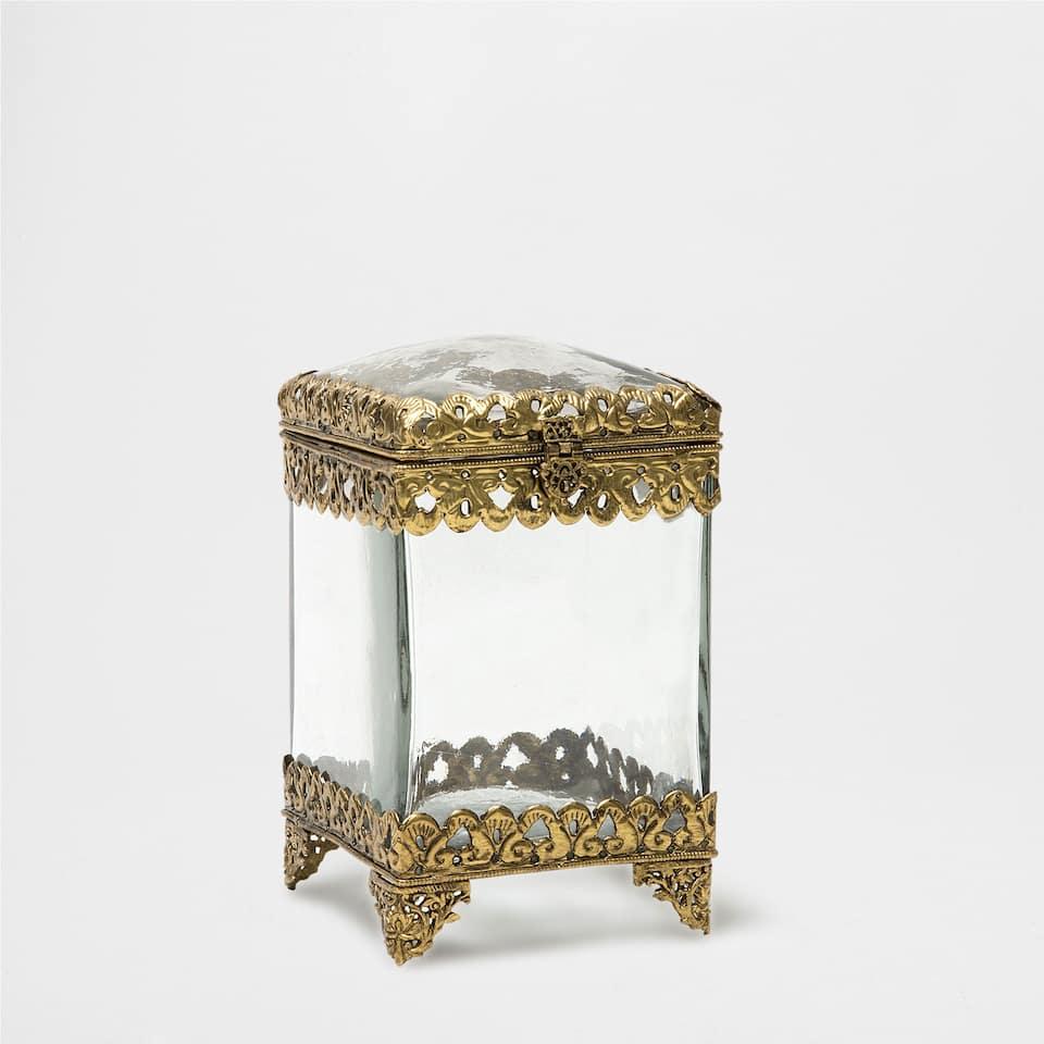 Decorative Metal Jar Accessories Decor Home