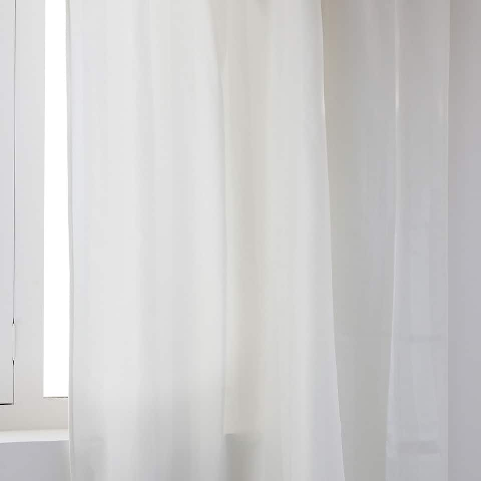 WIDE-STRIPE JACQUARD CURTAIN