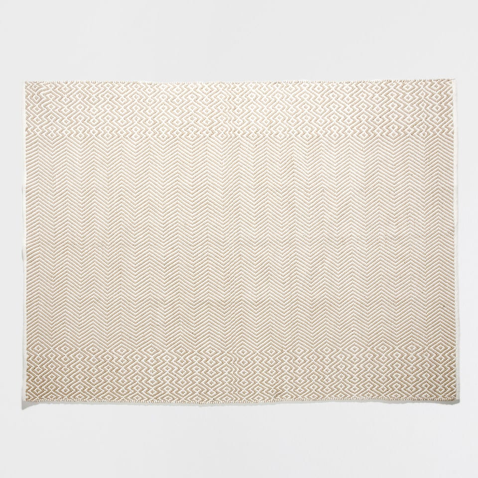JACQUARD COTTON RUG