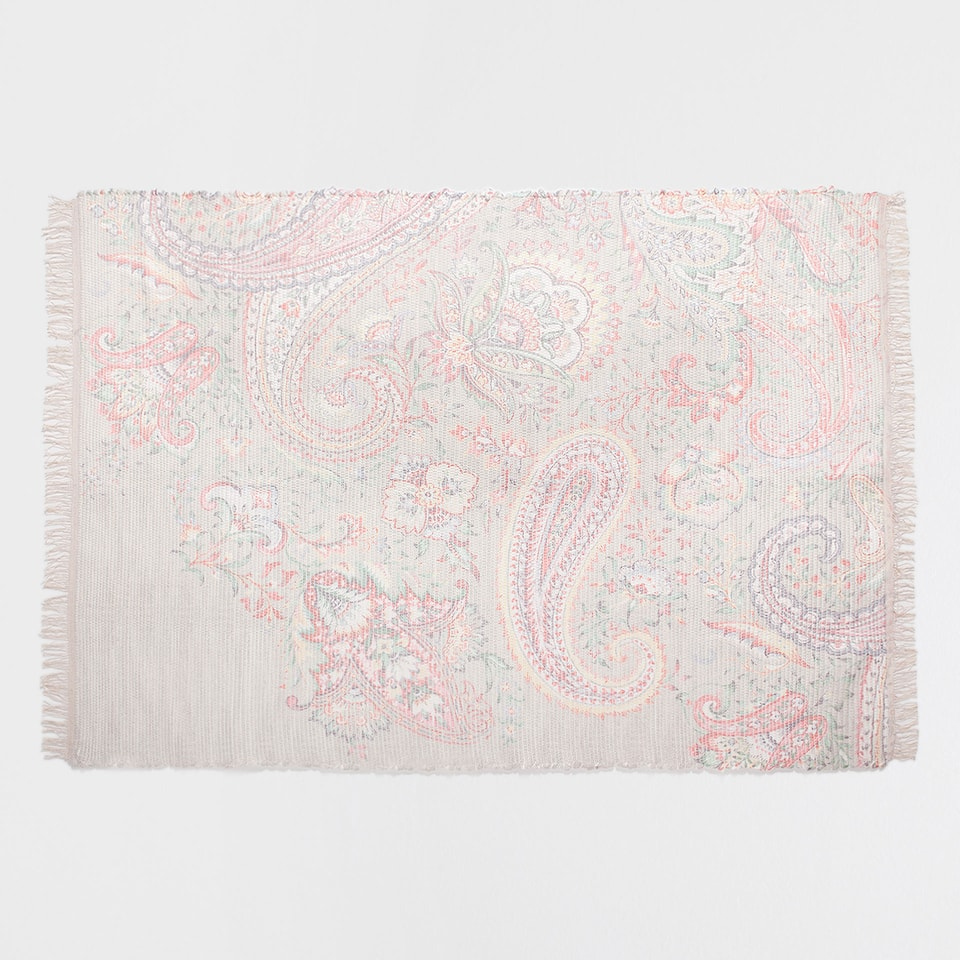 MULTICOLOURED DIGITAL-PRINT RUG