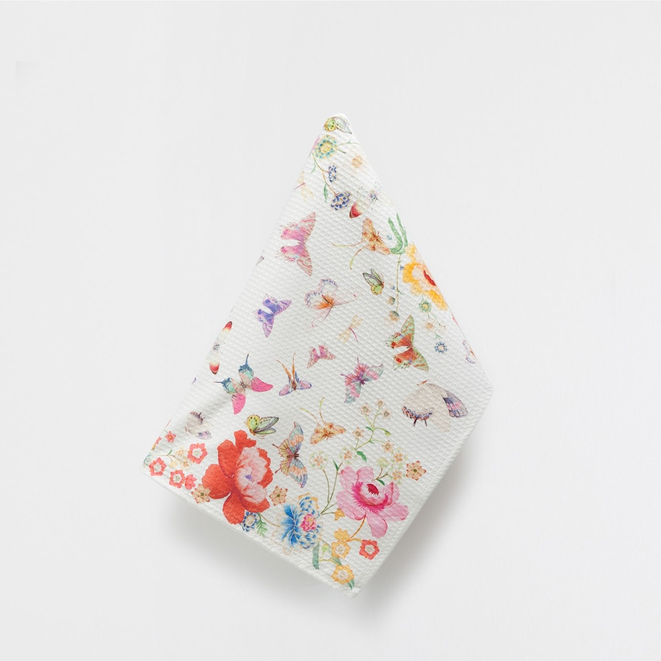 BUTTERFLY COTTON TEA TOWEL
