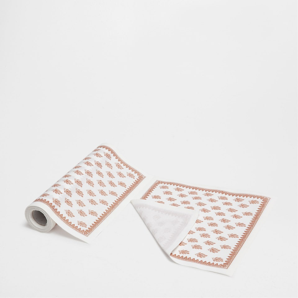 PAISLEY PRE-CUT NAPKINS (SET OF 20)