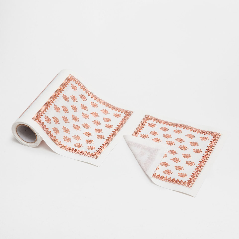 Paisley-Print Coasters (Set of 20)