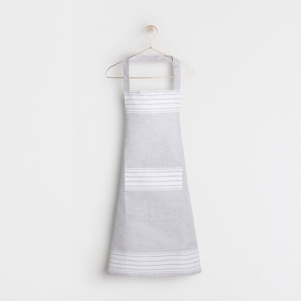 COTTON AND LINEN APRON