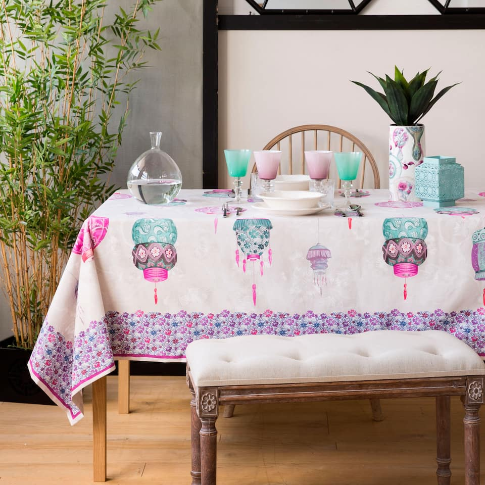 Printed Tablecloth (Easy Care)
