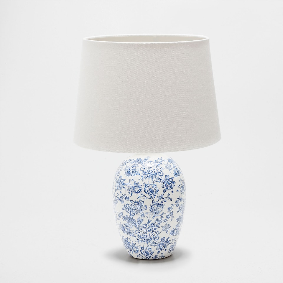 PRINTED CERAMIC LAMP
