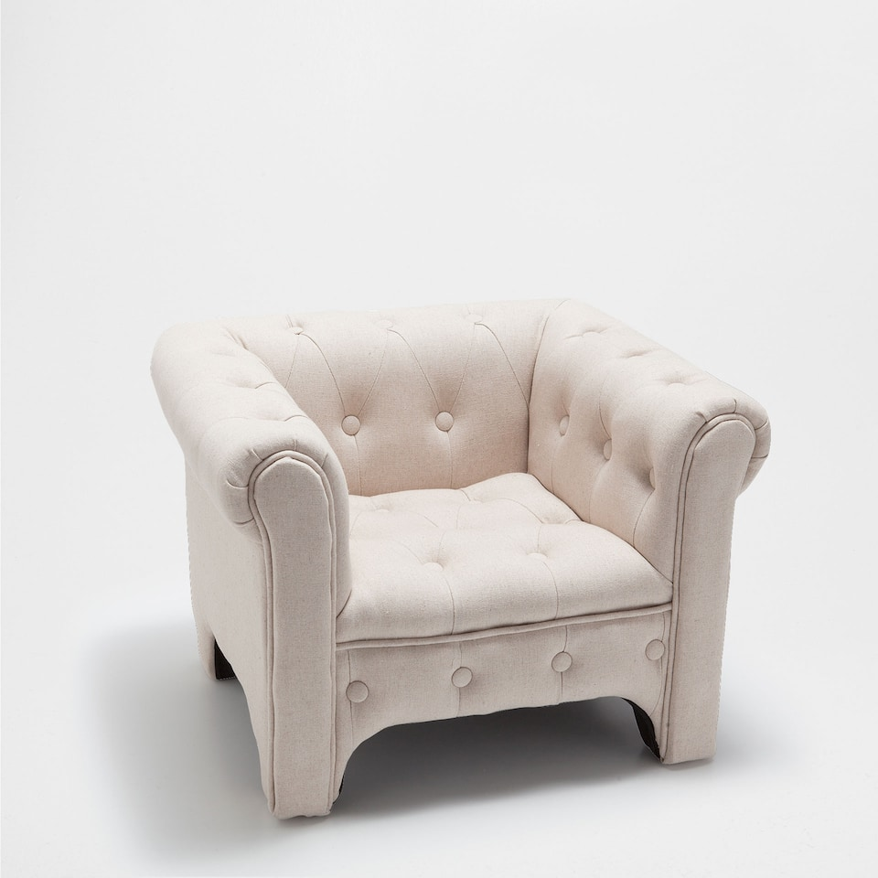 LARGE UPHOLSTERED ARMCHAIR