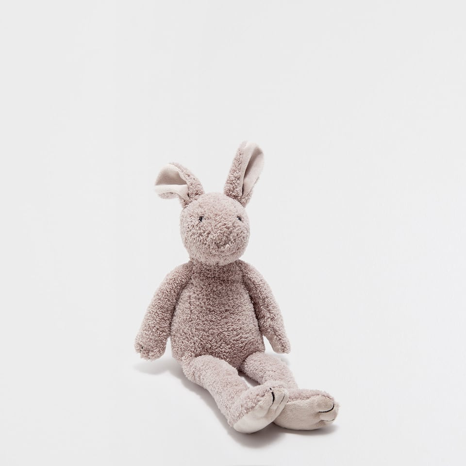 BUNNY SOFT TOY WITH LONG LEGS