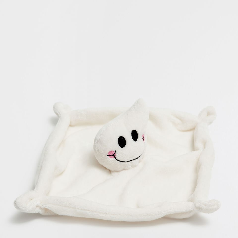 LITTLE GHOST COMFORT BLANKET SOFT TOY