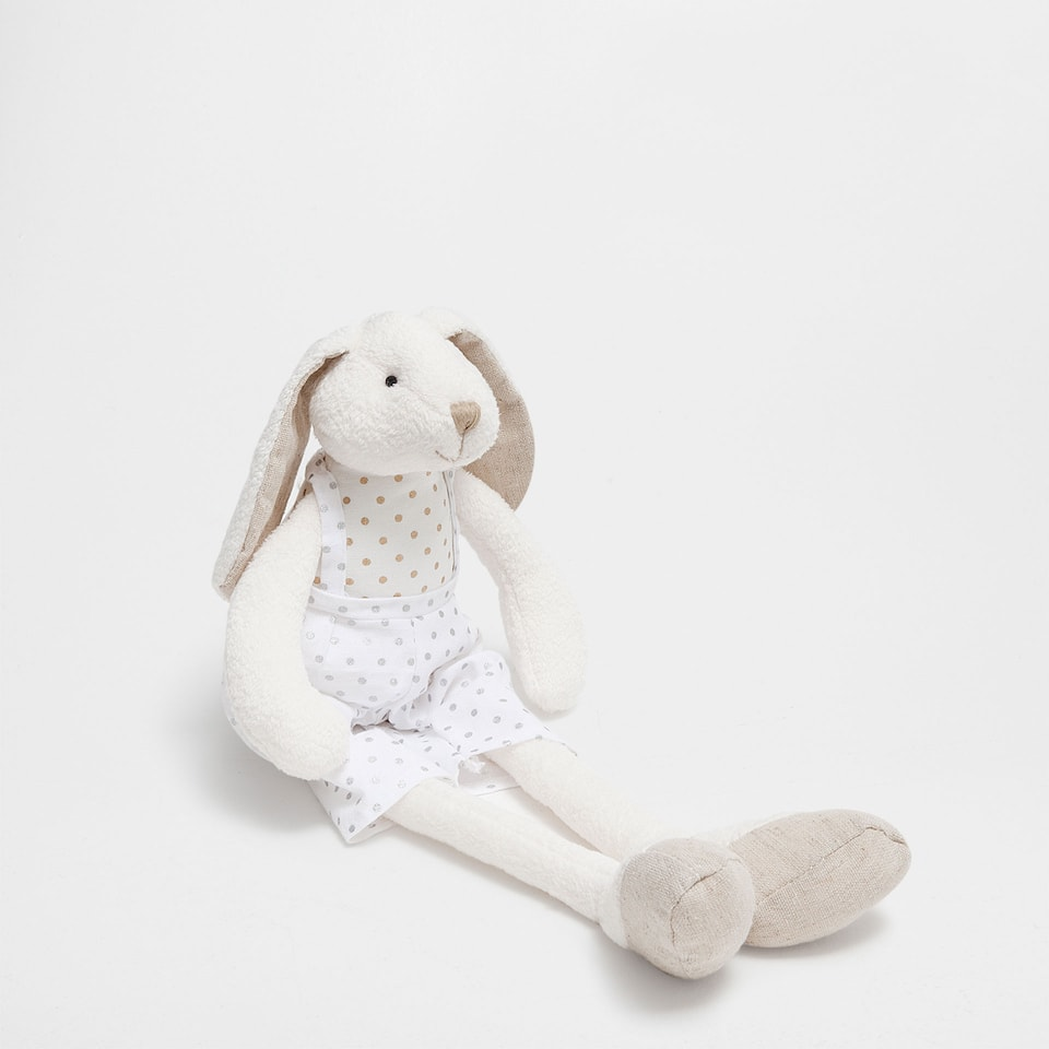 MOUSE IN TROUSERS SOFT TOY