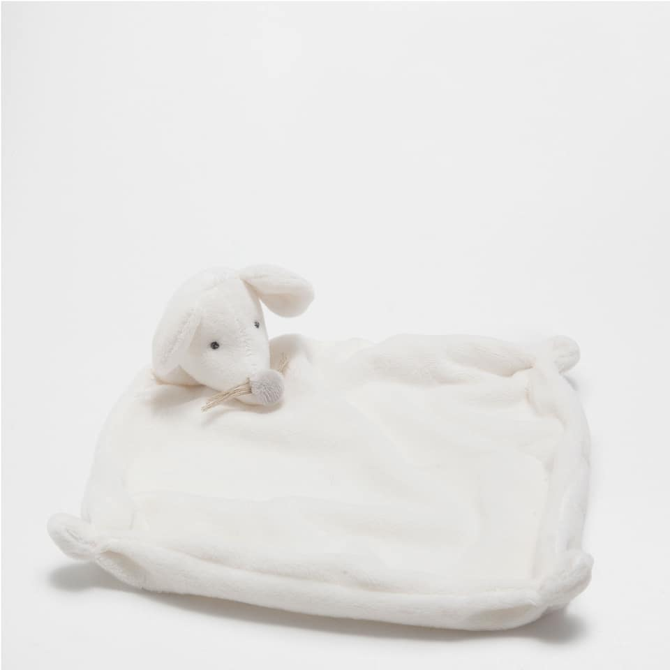 MOUSE COMFORT BLANKET SOFT TOY