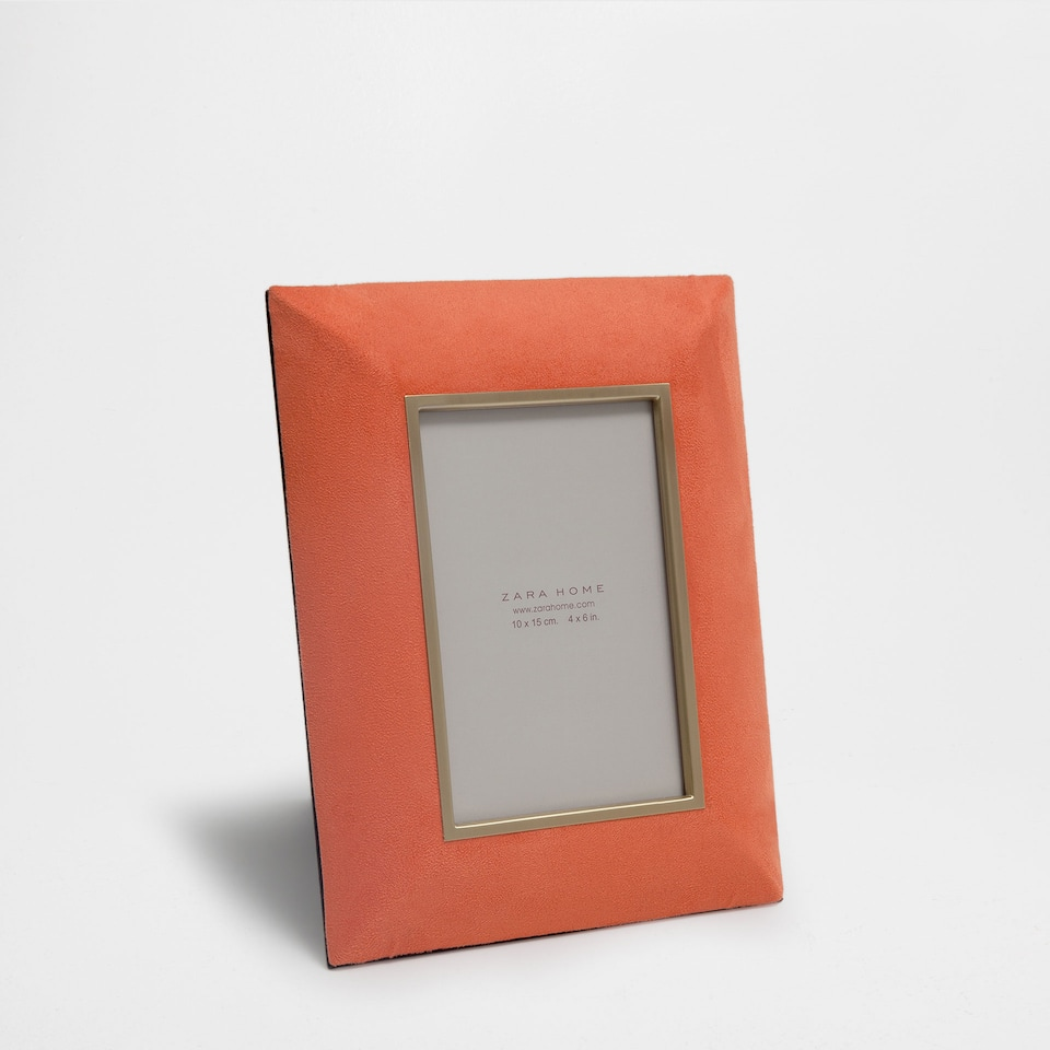 GOLDEN-EDGED ORANGE FRAME