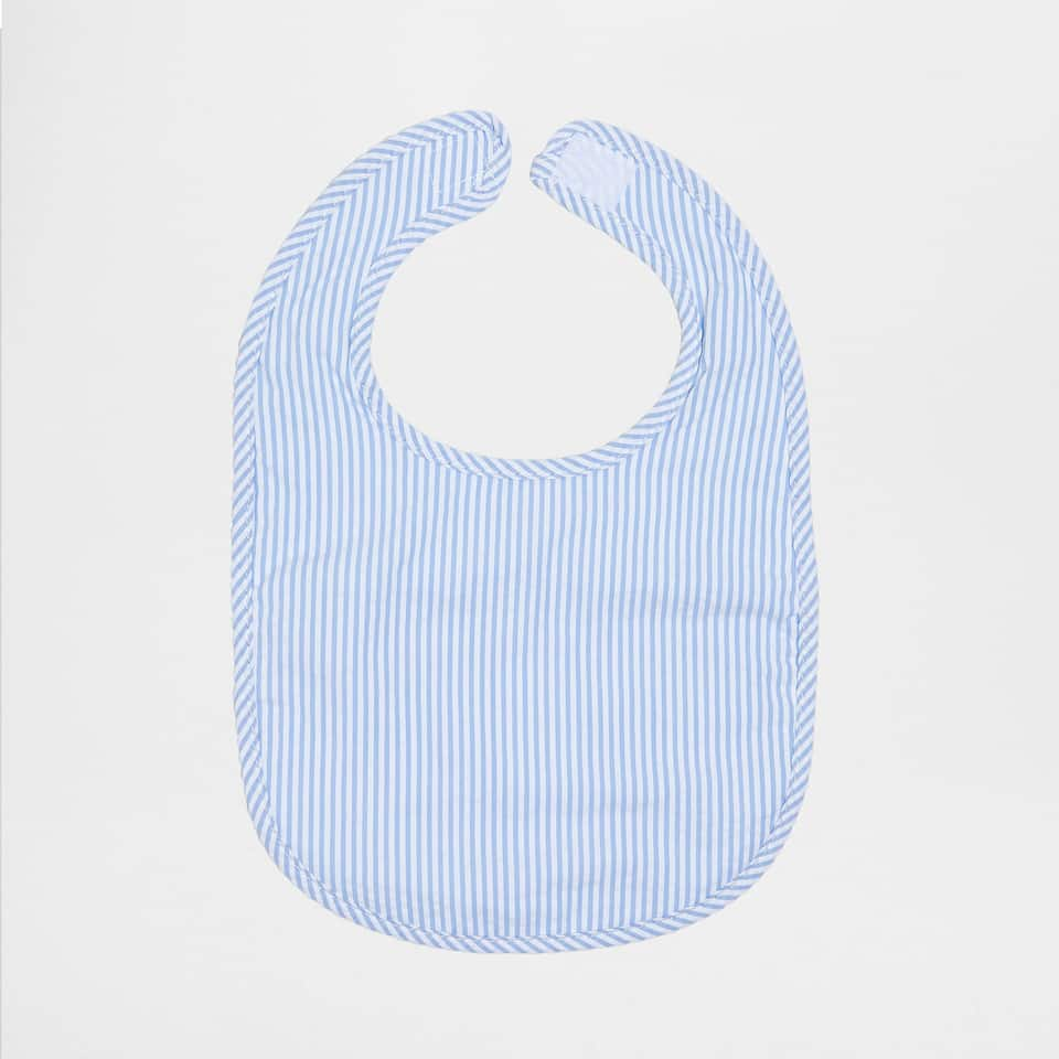 PERCALE BIB SEERSUCKER (SET OF 2)
