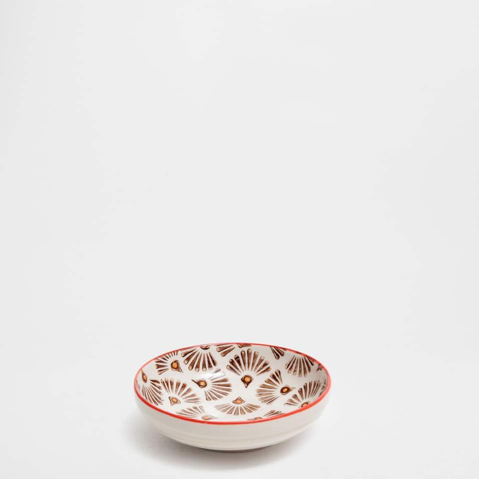 Raised dots mini bowl