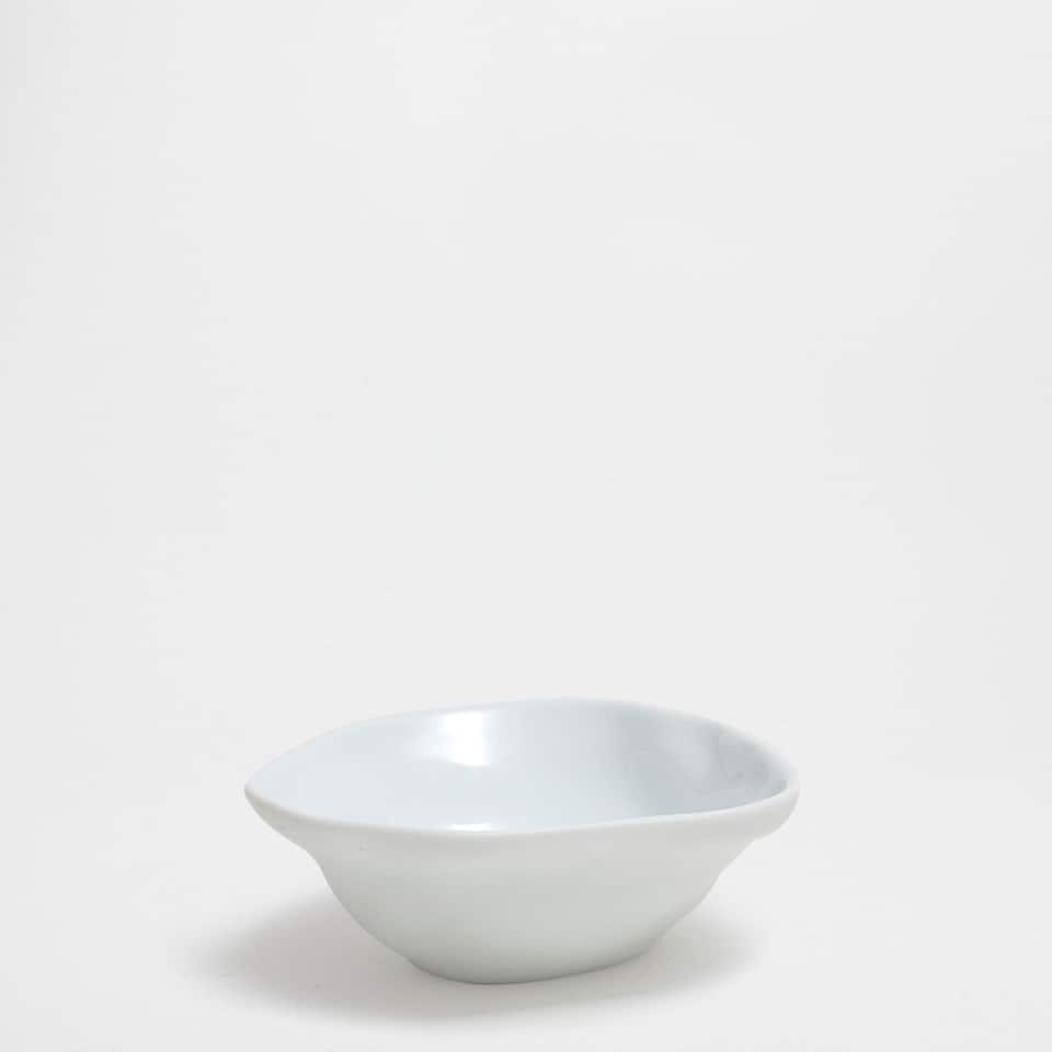 Handgemachte Minischüssel aus Porzellan