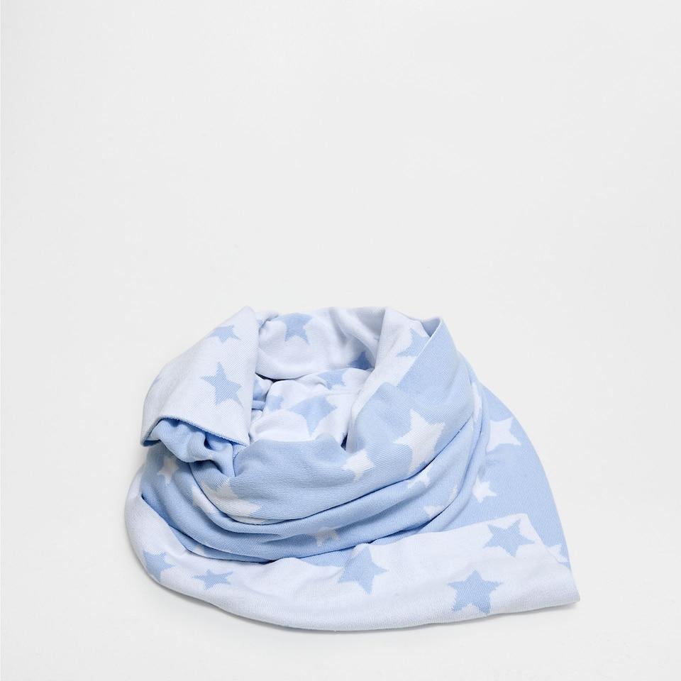 Stars-print cotton blanket