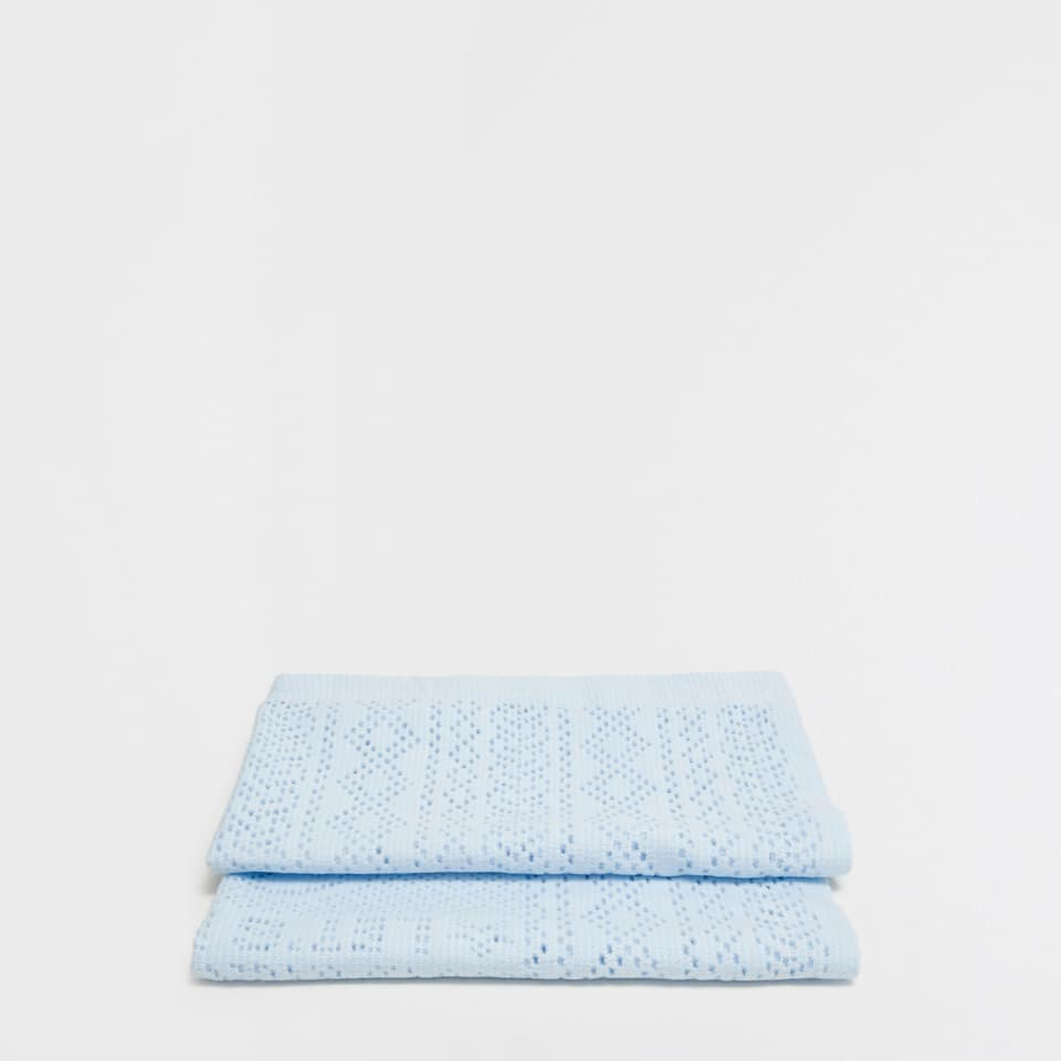 Cotton blanket with a cars design