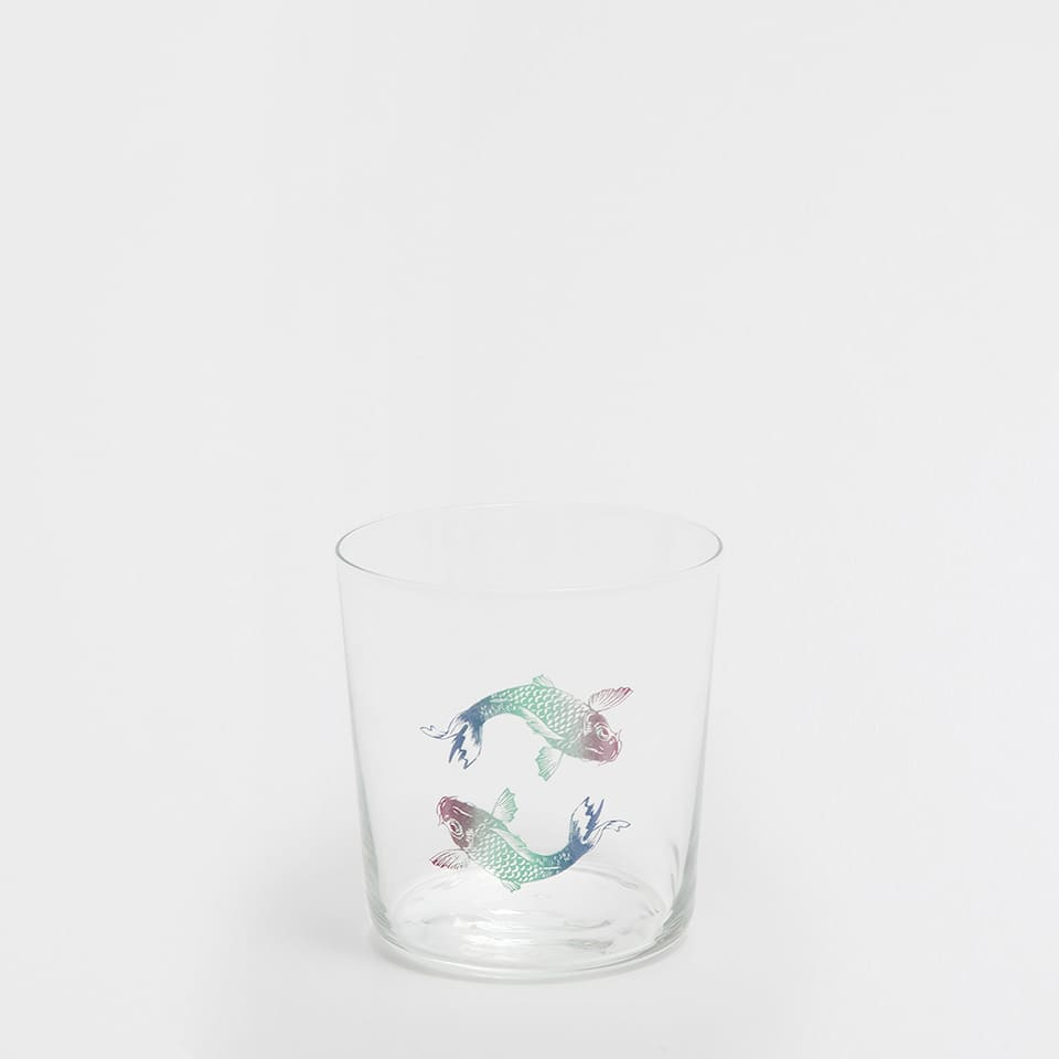 FISH GLASS TUMBLER