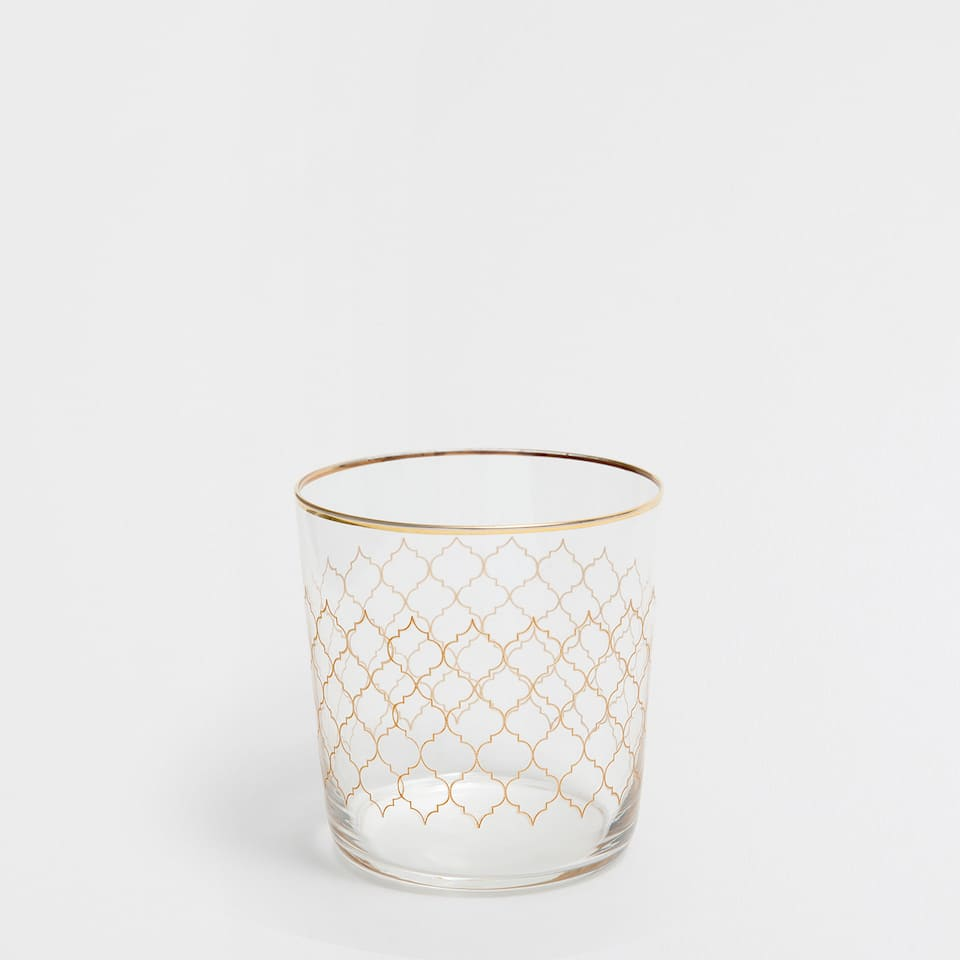 GRILLE GLASS TUMBLER