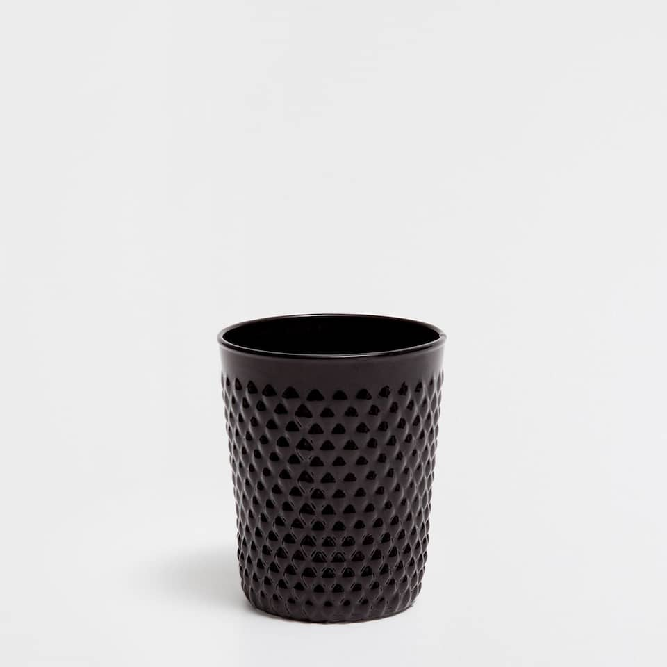 HONEYCOMB GLASS TUMBLER