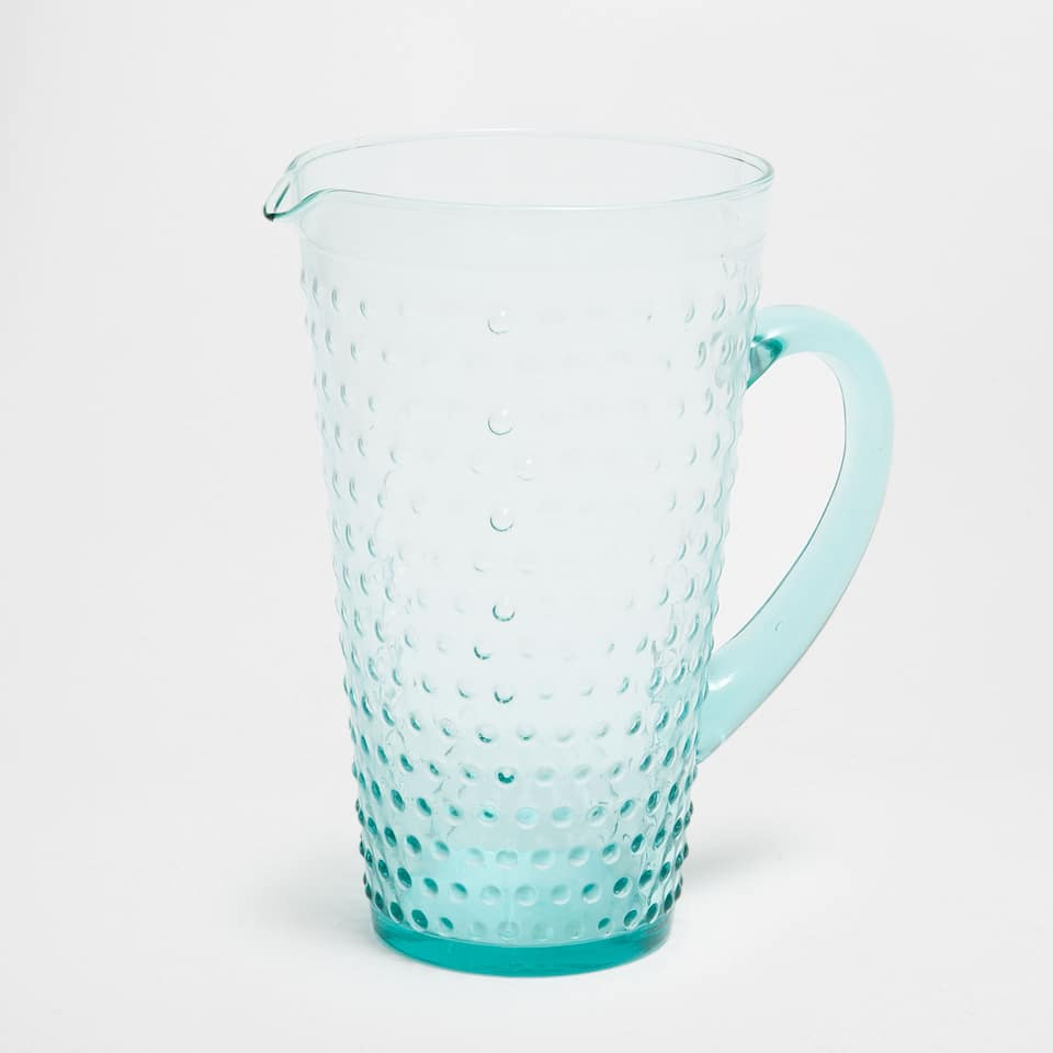 DOTS GLASS PITCHER