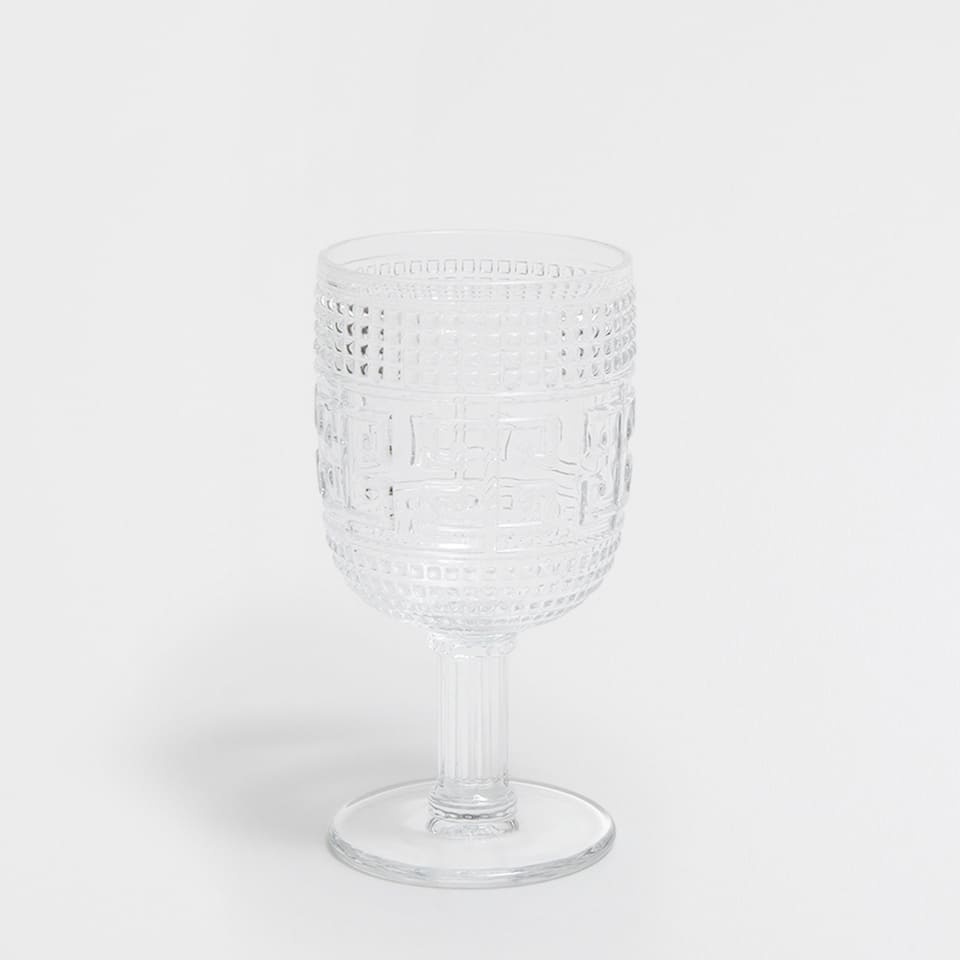 LABYRINTH DESIGN WINE GLASS