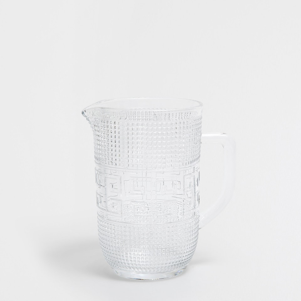 LABYRINTH DESIGN PITCHER