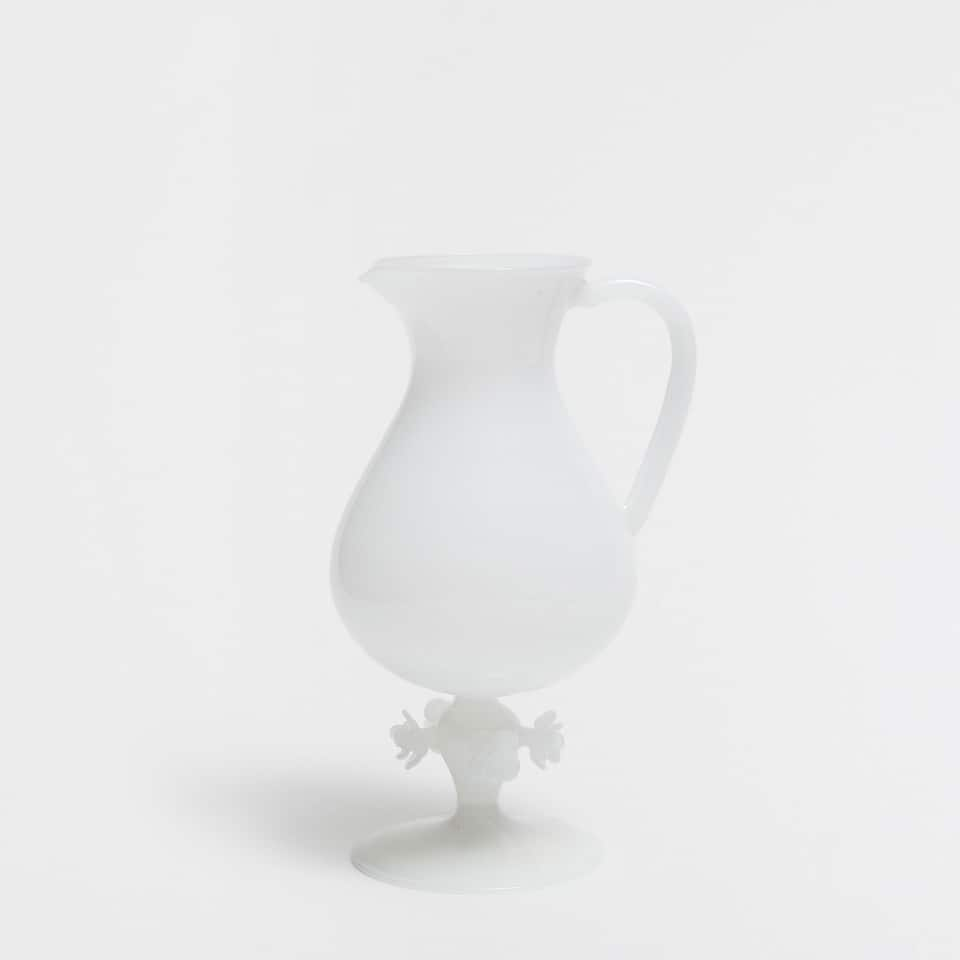 OPAL WHITE PITCHER
