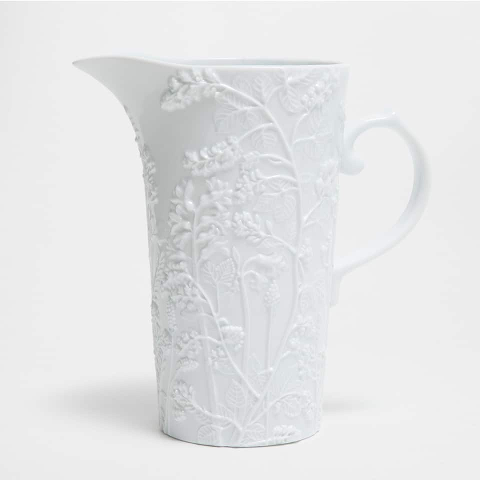WHITE PORCELAIN JUG