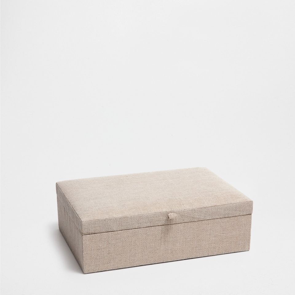 BEIGE JEWELLERY BOX