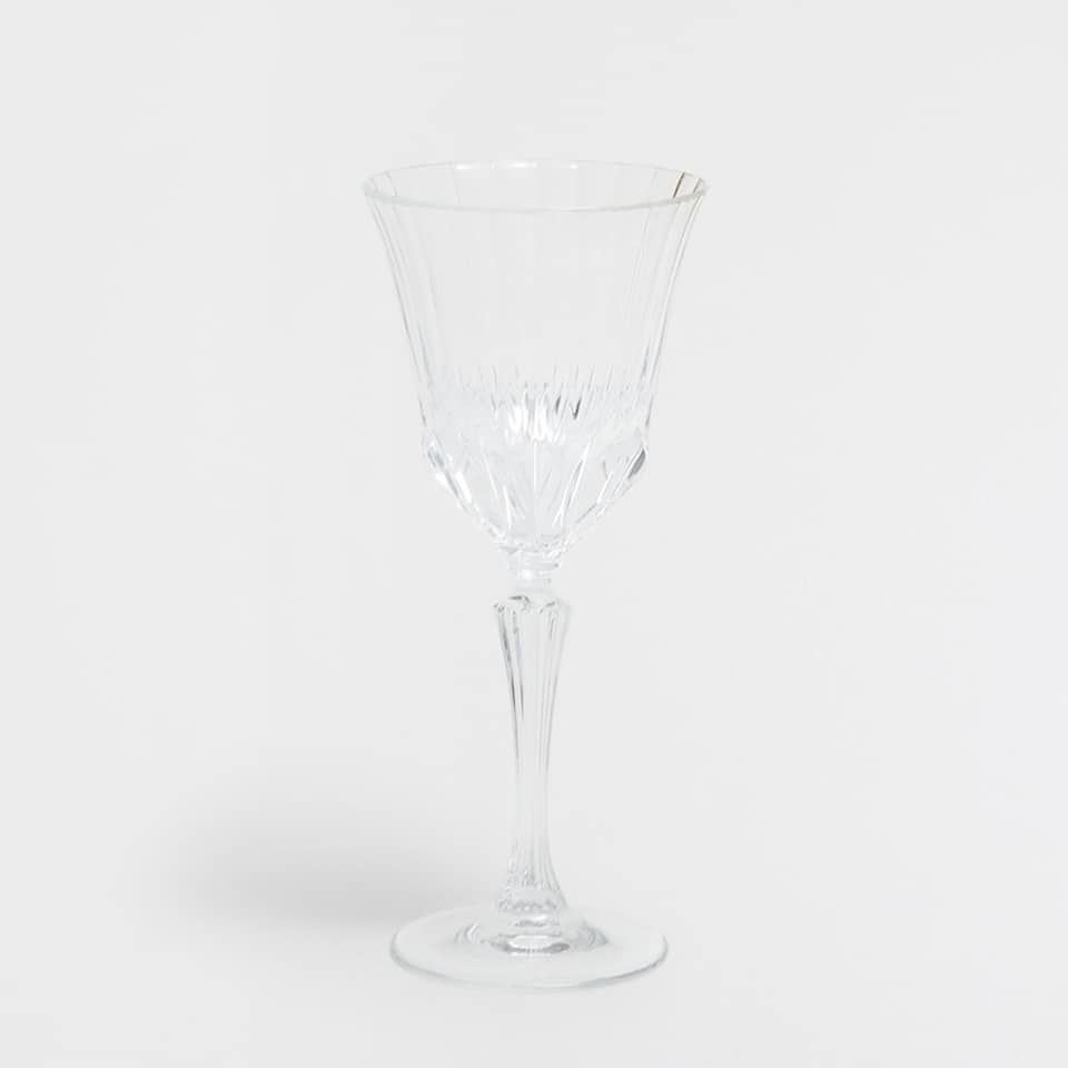 Cut Glass Water Glass