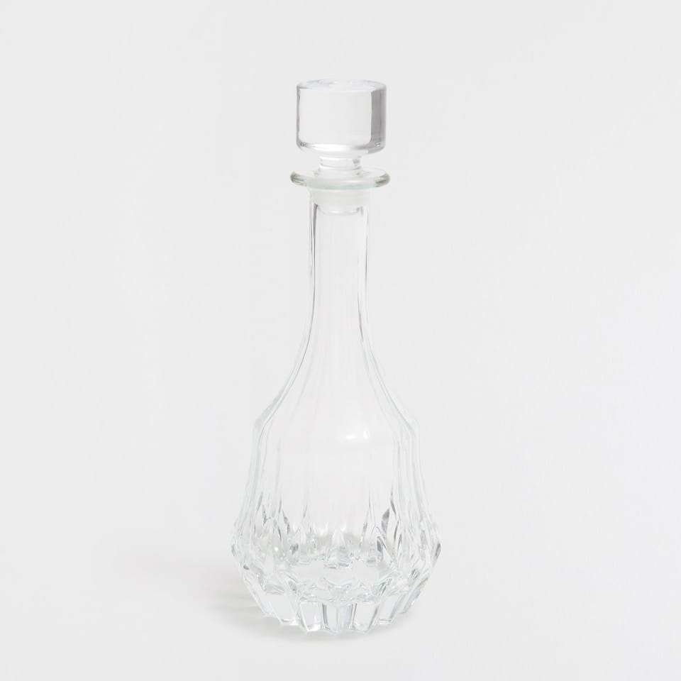 Transparent Cut Bottle