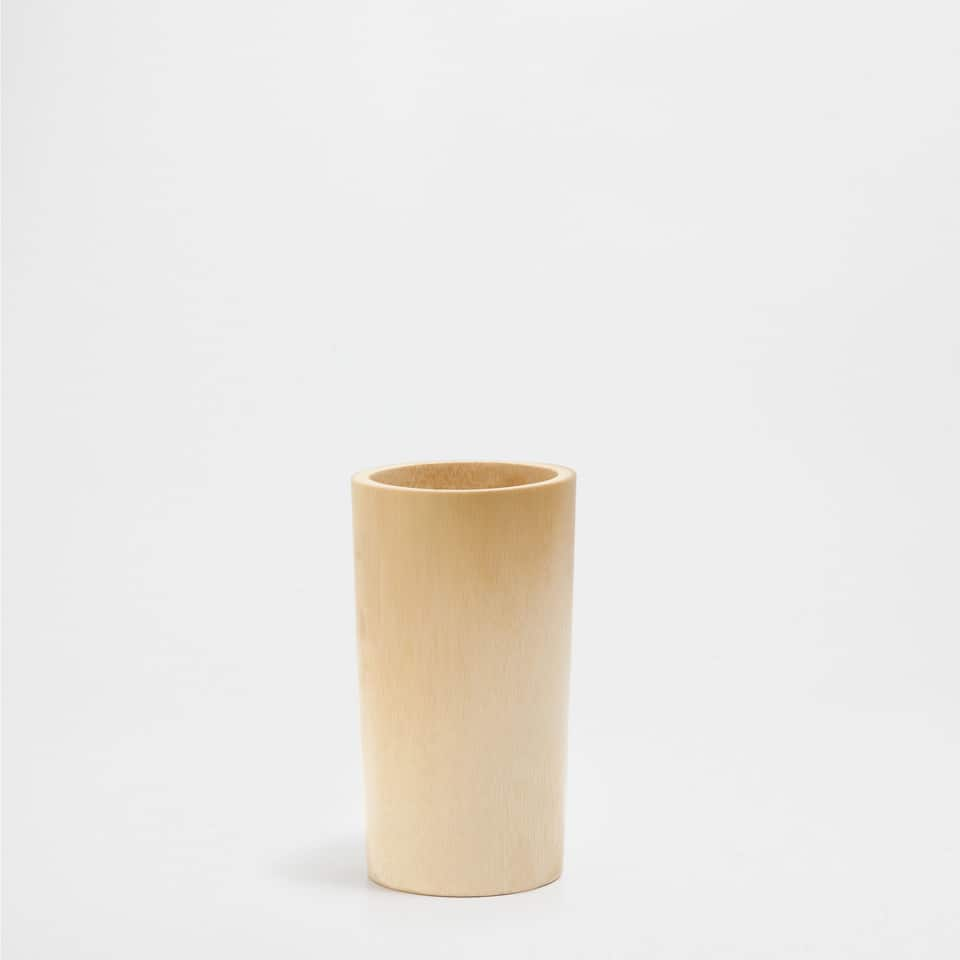 DECORATIVE BAMBOO VASE