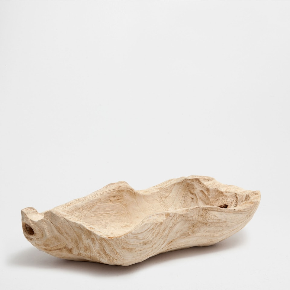 NATURAL DECORATIVE WOODEN OBJECT