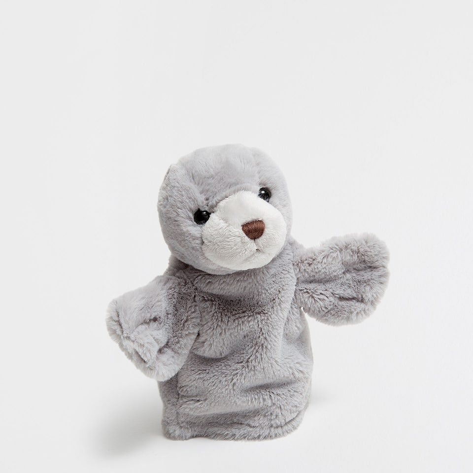 SEAL HAND PUPPET SOFT TOY
