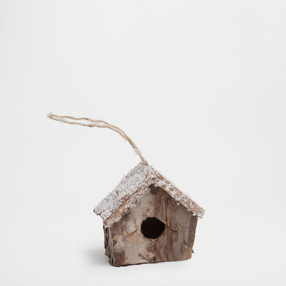 Pendant bird house