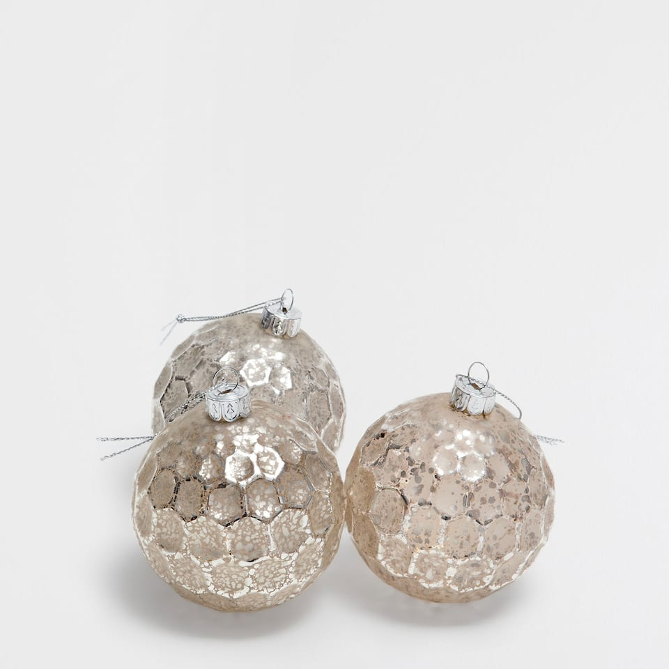 Panel effect baubles (set of 3)